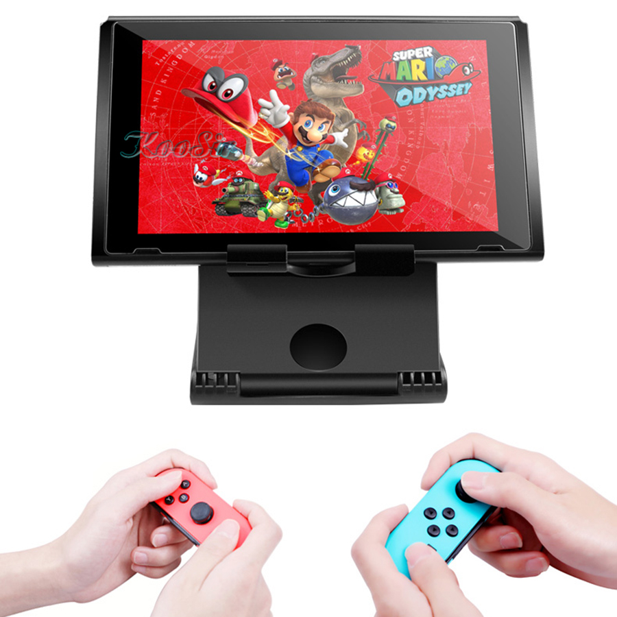Image 5 - Nitendo Nintend Switch Accessories Console Storage Adjustable Portable Play Stand Nintendoswitch Carrying Case Bracket Holder-in Bags from Consumer Electronics