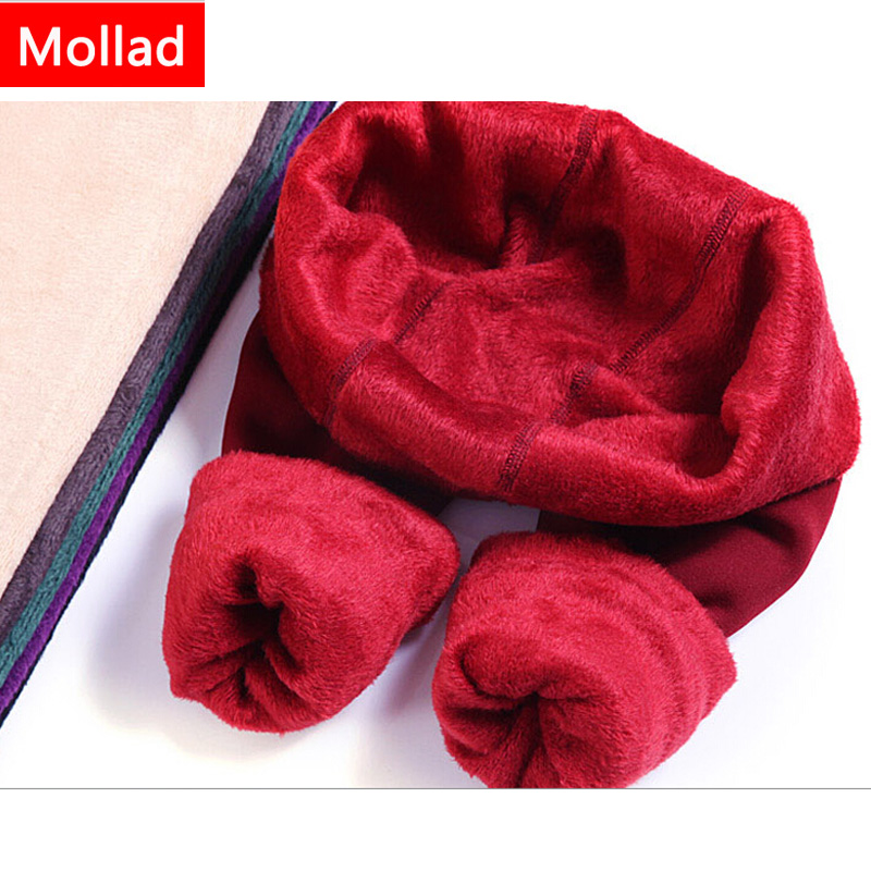 Mollad NOVO além de caxemira moda leggings mulheres meninas Inverno - Roupas femininas - Foto 4