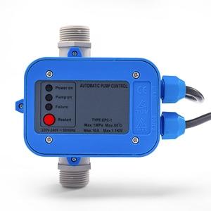 Image 1 - Water Pump Adjustable Pressure Sensor Switch Automatic Booster Regulator Water Shortage Protection Level Controller 1.5bar Start