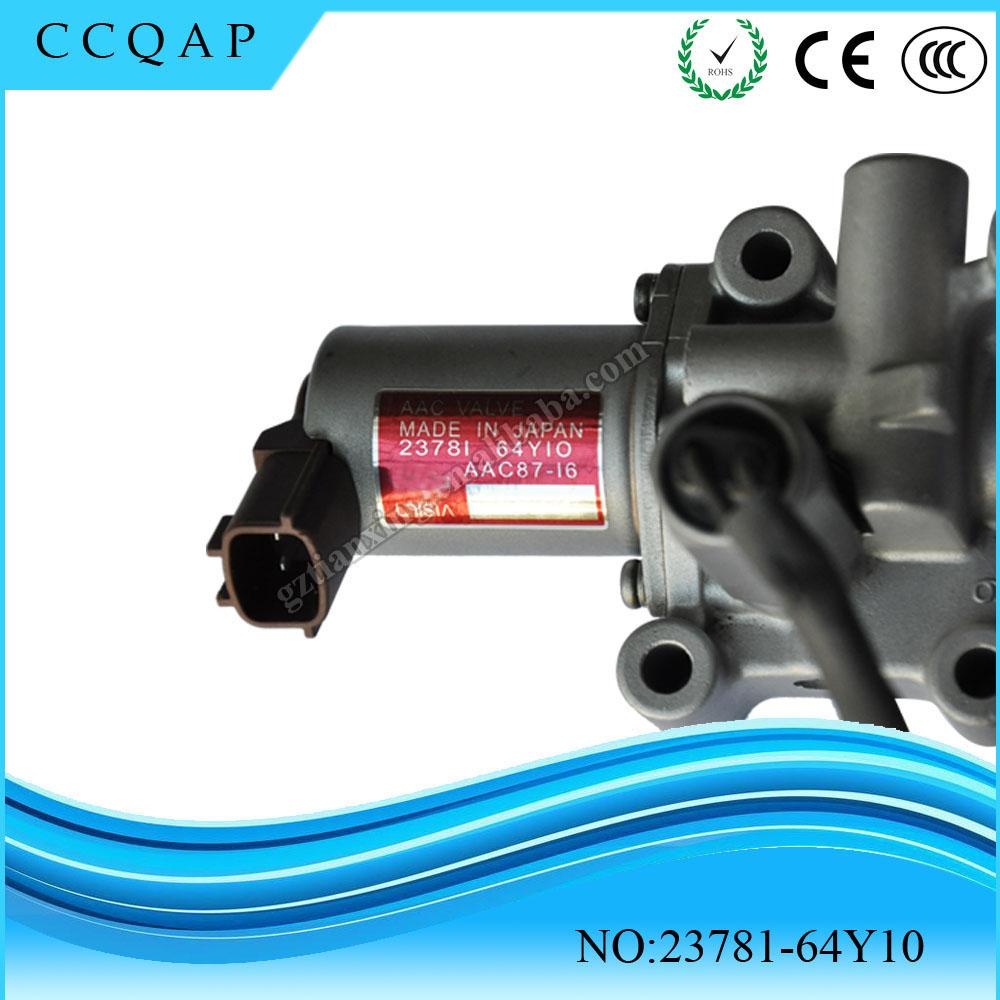 High quality and free shipping 23781-64Y10 IAC Idle Air Control Valve for NISSAN dsfvw003 idle air speed control valve iac 034133455 35150 22000 0280140505 for vw gold jetta audi hyundai