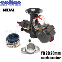 YD28 28mm Carburetor Carb Replacement Parts With Power Jet For 125cc 124cc 792 404 8100 ,671 040R6500 ATV Motorcycle RACING