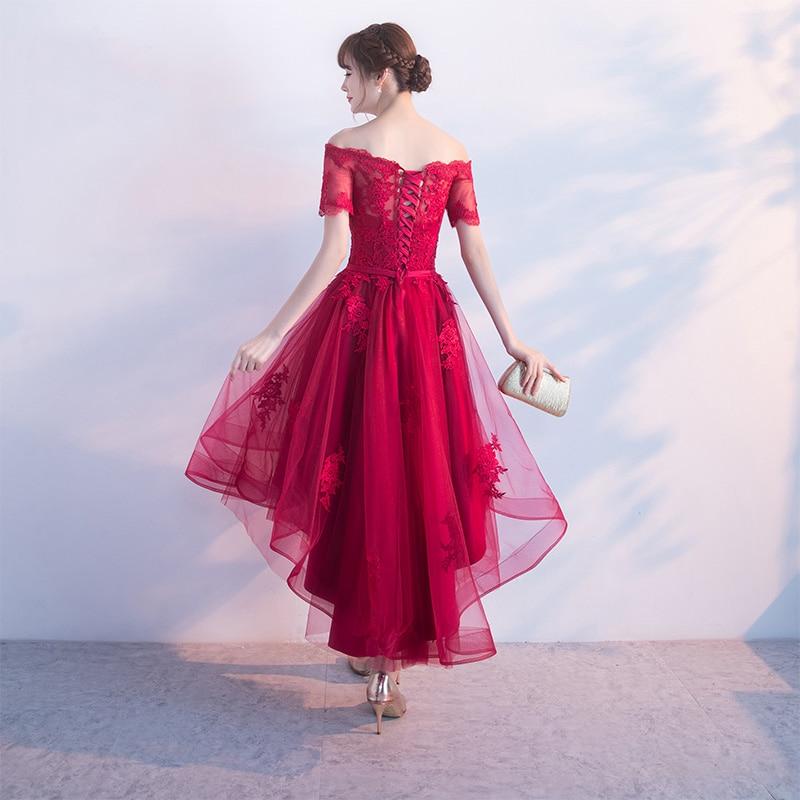 PotN'Patio Μικρά Καπέλα Μανίκια Off Ρούχα Prom - Ειδικές φορέματα περίπτωσης - Φωτογραφία 4