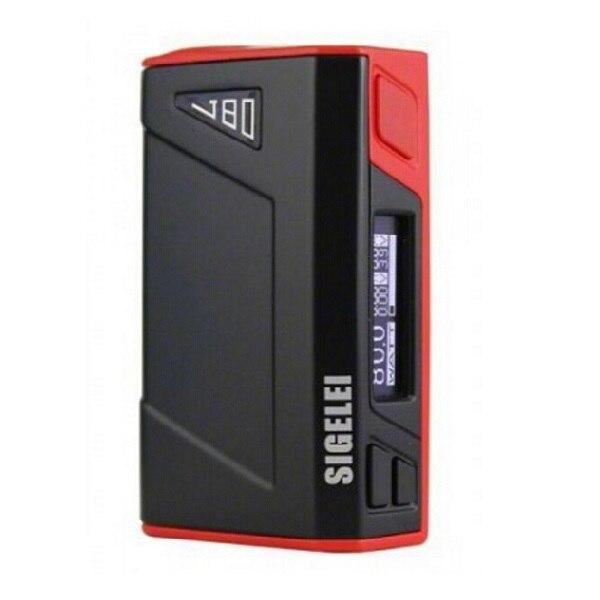 Original Sigelei J80 Cuadro Mod 10 W-80 W de Control de Temperatura y Pantalla OLED Solo Incorporada del Li-polímero batería