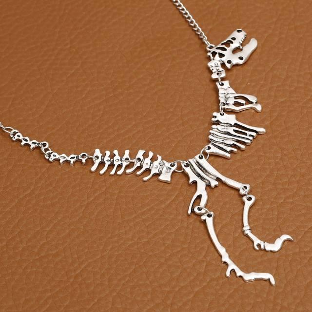 TYRANNOSAURUS REX SKELETON Skull PENDANT NECKLACE (3 VARIAN)