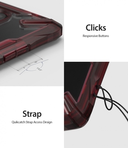 Image 3 - Ringke Fusion X per Oneplus Caso Dual Layer PC Trasparente Della Copertura Posteriore di 7 e Molle di TPU Cornice Hybrid Heavy Duty di Protezione di goccia
