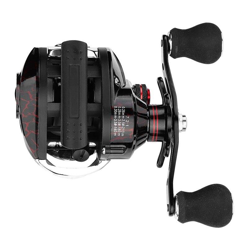 7.2: 最も安い Mobile ベイトキャスティング釣りホイール磁気ブレーキ鯉