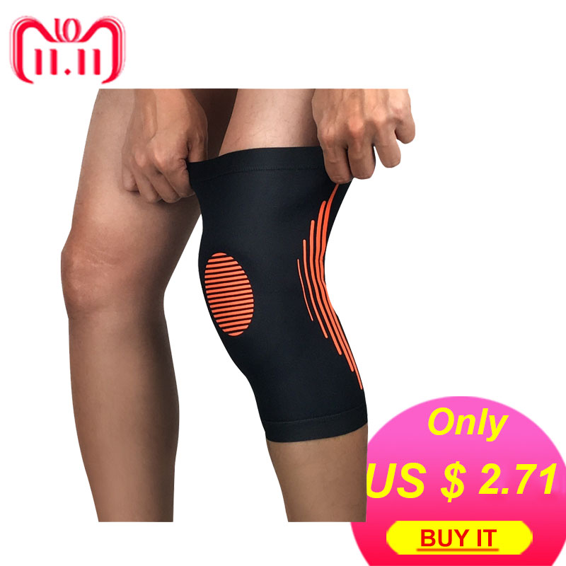 1PCS knee Protector Pads Warm High Elasticity Knee Support Relieve Arthritis Gym Sports Outdoor Guard Kneepad