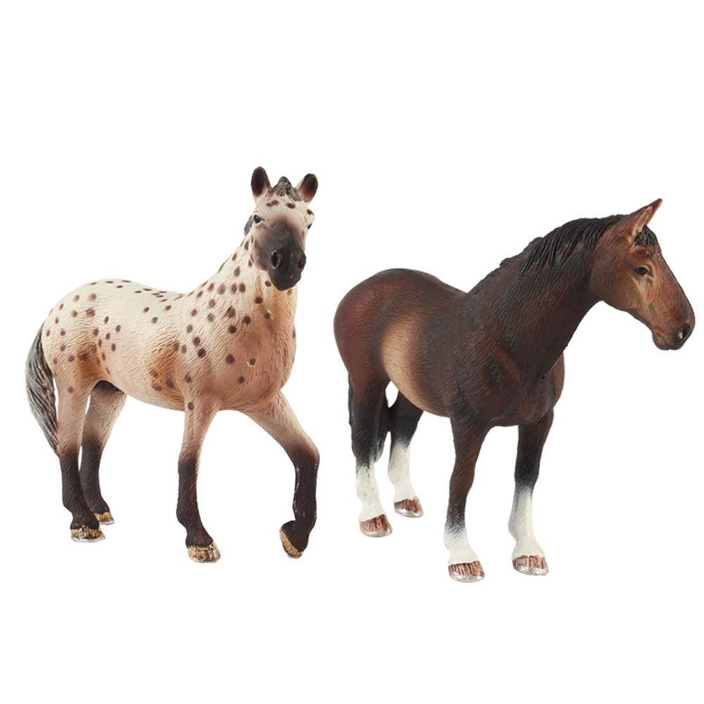Simulation Horse Models Horse Animal Model Action Figurines Kids Toys For Children Wildlife Toys Simulation Animal Model Toy цена