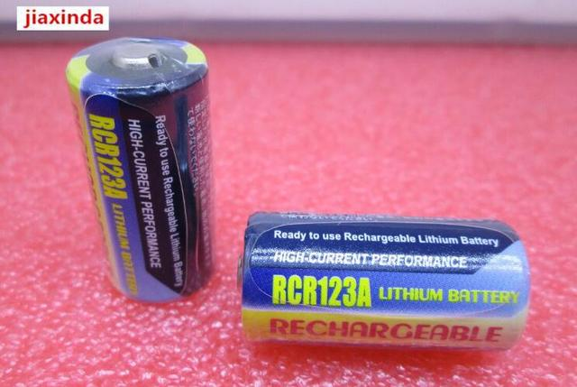 New Cr123a Rcr123a Cr123 3v 500mah Lithium Battery Digital Camera