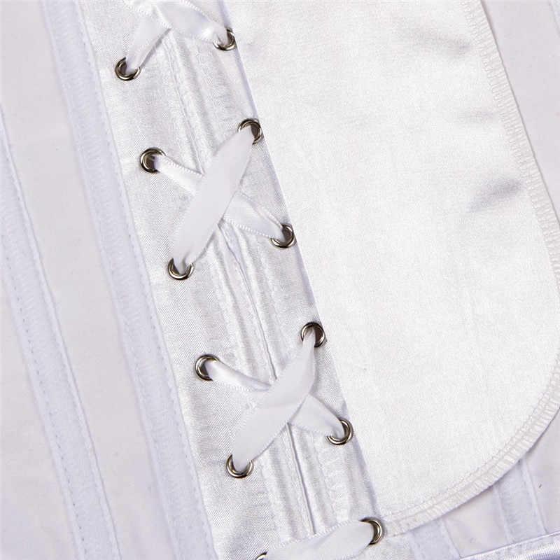 Готический корсет под грудь и Талия Cincher бюстье форма Тренировки Пояс Плюс Размер белье корсет для торса S-6XL Новинка