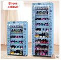 Oxford cloth dustproof cloth shoes cabinet contemporary and contracted shoe racks