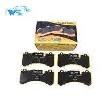 KOKO RACING Высокая перфорация тормозная колодка для 6 горшков тормозные измерительные аксессуары GT6 тормозные колодки для Lexus LX570 2011 лет
