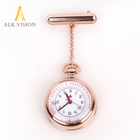 Fob Pocket Nurse Watch Medical Gift For Nurse Doctor Hospital Rose Gold Silver Nurse Watches Accept