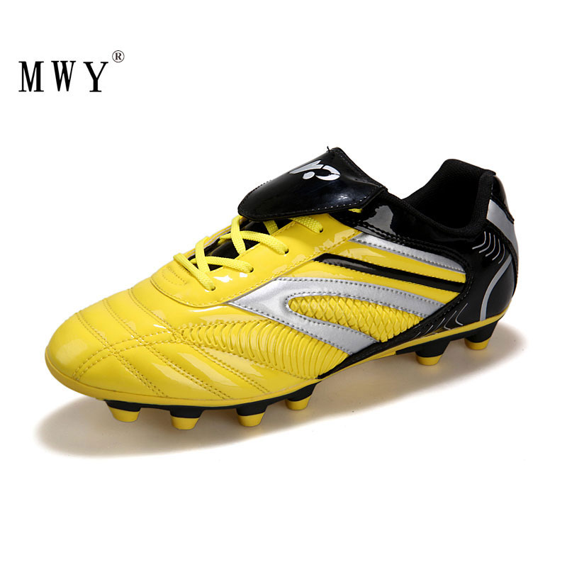 MWY Soccer Sports Shoes For Men Voetbalschoenen Boys Football Shoes Outdoor Breathable Soccer Cleats Futsal Sneakers Trainers