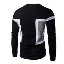 Мужская повседневная Slim Fit О-образным вырезом футболка с длинными рукавами пуловер рубашка пота jackect пальто Топы