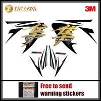 motorcycle Fairing Fuel tank Body stickers FOR SUZUKI Hayabusa GSXR1300R 2009