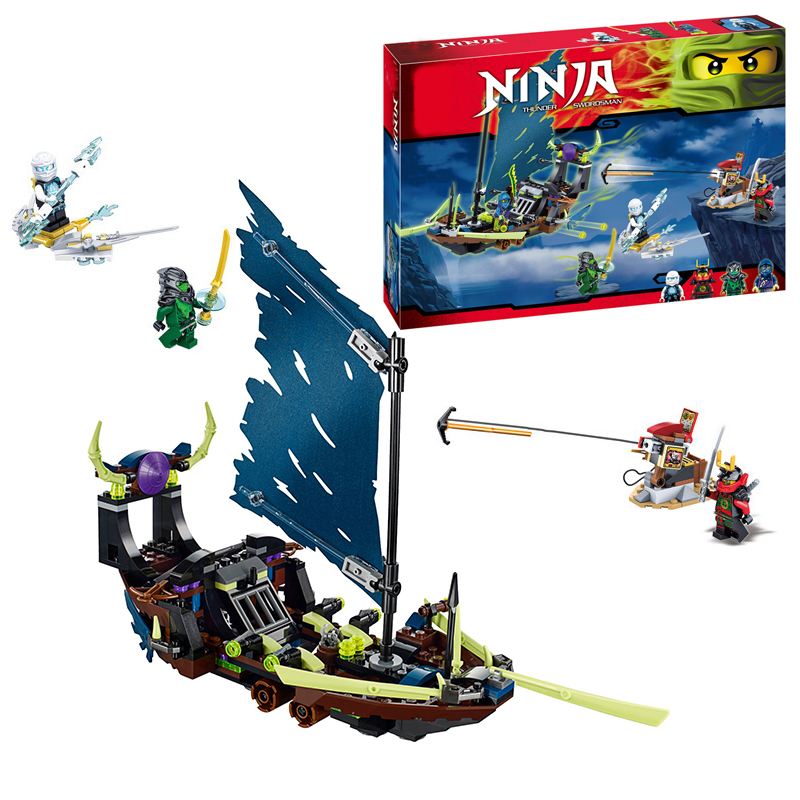 SY396 Ghost Ship building Blocks Bricks for children Toys Set Boy Game Party Weapon Model Compatible with Decool Lepin  Bela lepin 02005 volcano exploration base building bricks toys for children game model car gift compatible with decool 60124