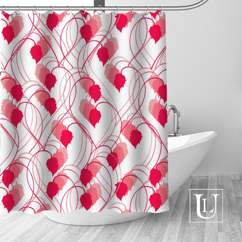 Waterproof Bathroom Curtains Modern Vector Paisley Pattern Shower Curtain polyester Bath screens Customized curtain ...