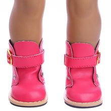 Premium Quality New Cute Fashion Boots For 18 Inch America Doll Accessories Girl Toy