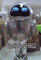 High quality Robot WALL E Friend New Plush Adult Mascot Costume free Shipping