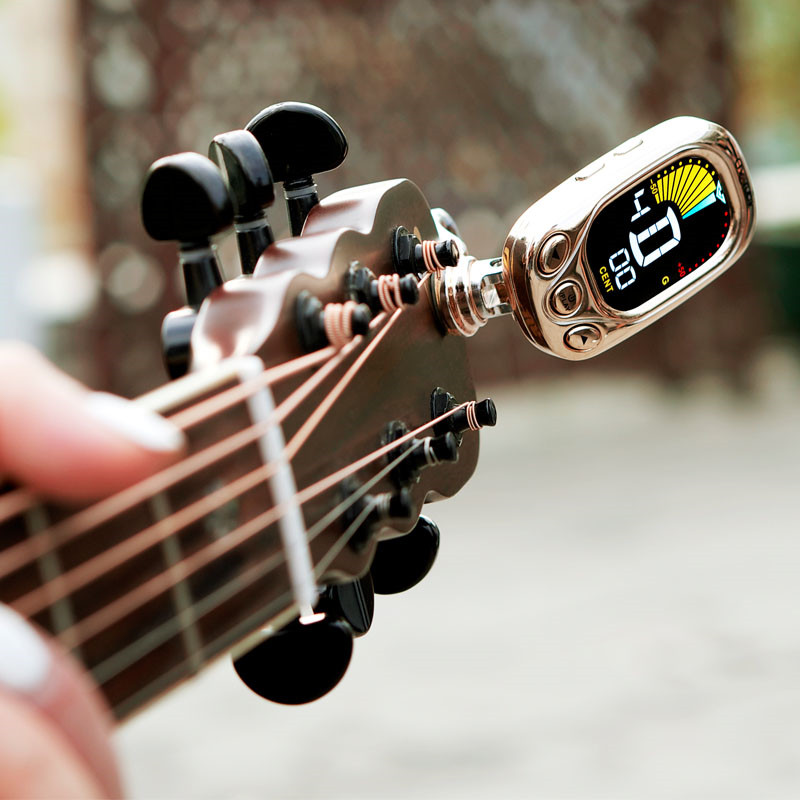 New Arrival WST-2046WZ Violin Ukulele Electronic Clip Tuner Digital Guitar Clip-on Tuner Musical Stringed Instruments Parts zebra 2 in 1 clip tuner metronome 360 degree rotatable clip guitar tuners machines for guitar beat tempo bass violin ukulele
