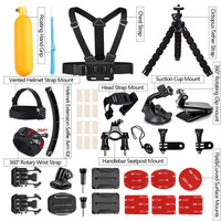 14 in 1 Outdoor Sports Action Camera Accessories Kit For Gopro Hear 7 Black 6 5 Sony Xiaomi Yi 4K Bike Mount Floating Hand Grip