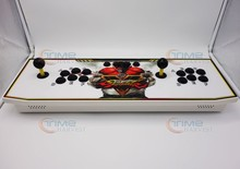 New Arrival 2Player Multi game 1299 in 1 consoler Joystick built-in horizontal games with power adapter Ryu stickers for HDMI TV