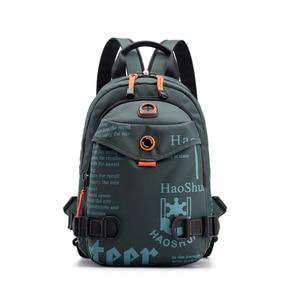 Image 2 - New Designer Fashion Men Backpack Mini Soft Touch Multi Function Small Backpack Male Shoulder Bag Men Purse