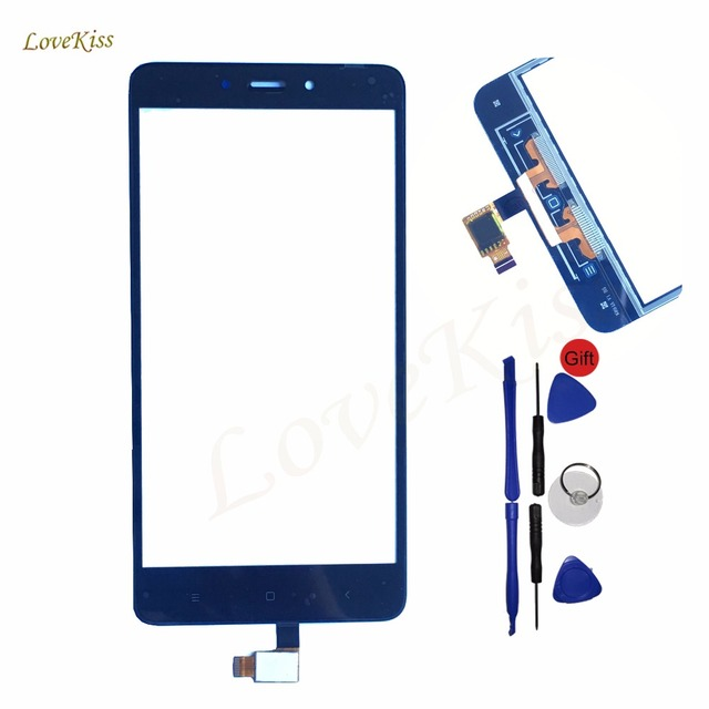 Touch Screen Panel For Xiaomi Redmi Note 4 note4 Touchscreen Digitizer Sensor Front Glass Replacement Tools For Hongmi Note 4