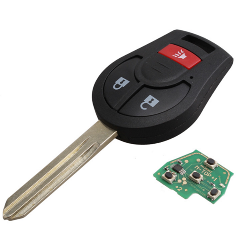 New 3 Buttons 315MHz Remote Key Fob With Chip For Nissan Juke Rogue Versa CWTWB1U751 Car Replace Key