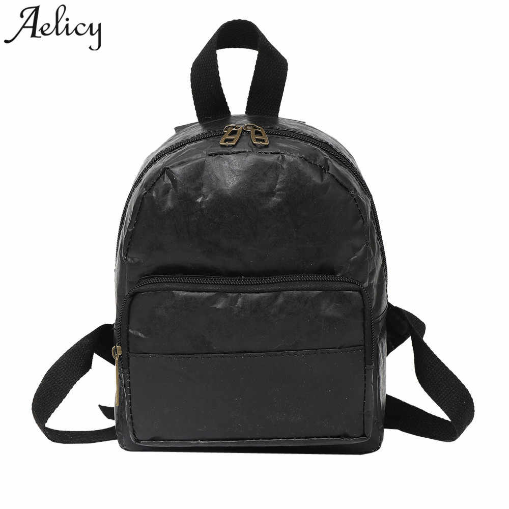 1419e8cd51f Detail Feedback Questions about Aelicy women Backpack Vintage leather girls  School Bag Ladies Backpack Waterproof Travel Bags mochila feminina  dropshipping ...