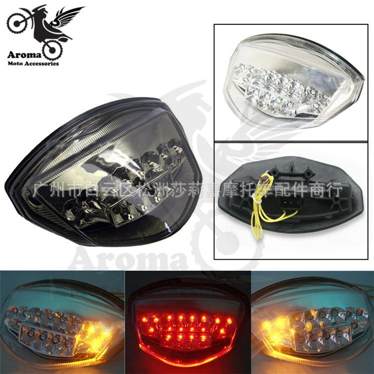 professional transparent smoke lens moto brake light motorbike LED for suzuki gsxr 1000 gsxr K7 motorcycle warning signal light