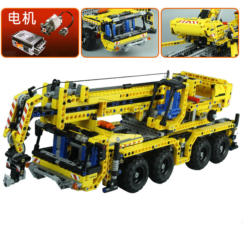 Lepin 20040 1392PCS technology machinery series mobile crane children creative assembly toy blocks mobile agent technology