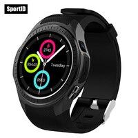 Braccialetto intelligente Orologio Wen Bussola Orologio Da Polso Da Donna L1 Bluetooth Heart Rate Monitor GPS Inseguitore Sport Fitness Supporto 2G SIM carta