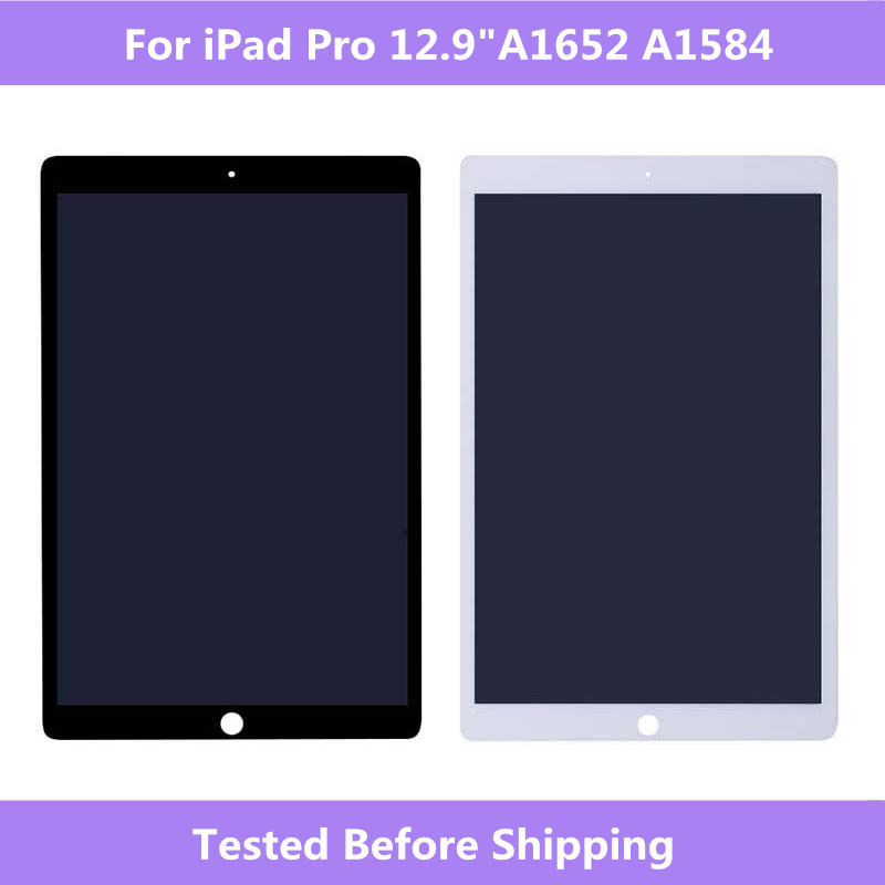 Full Screen For iPad Pro A1652 A1584 LCD display Touch screen Assembly with Board For iPad