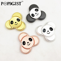 High Quality Hand Spinner Panda Matte Alloy Gyro EDC Fidget Tri Spinner For Anti Stress Autism