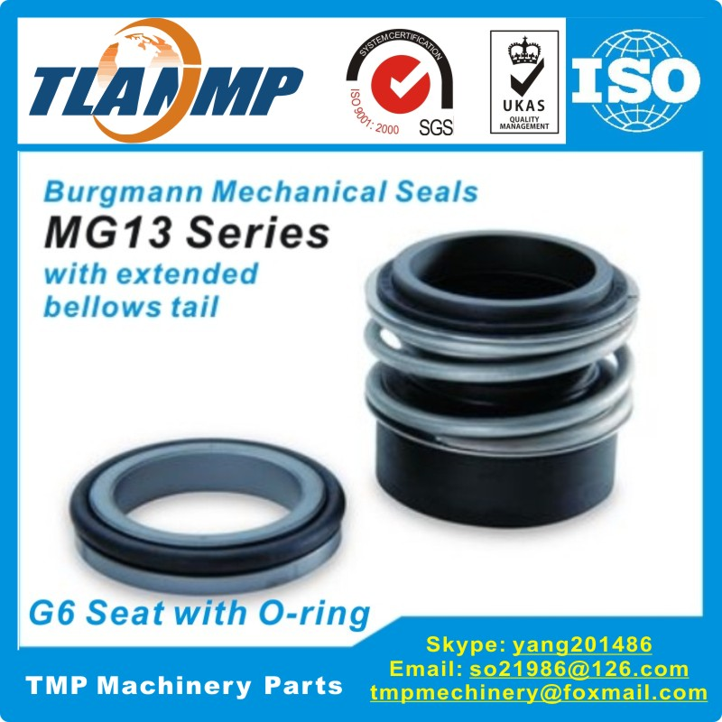 MG13 45 Z MG13 45 G6 Burgmann Mechanical Seals With G6 O ring Stationary seat for