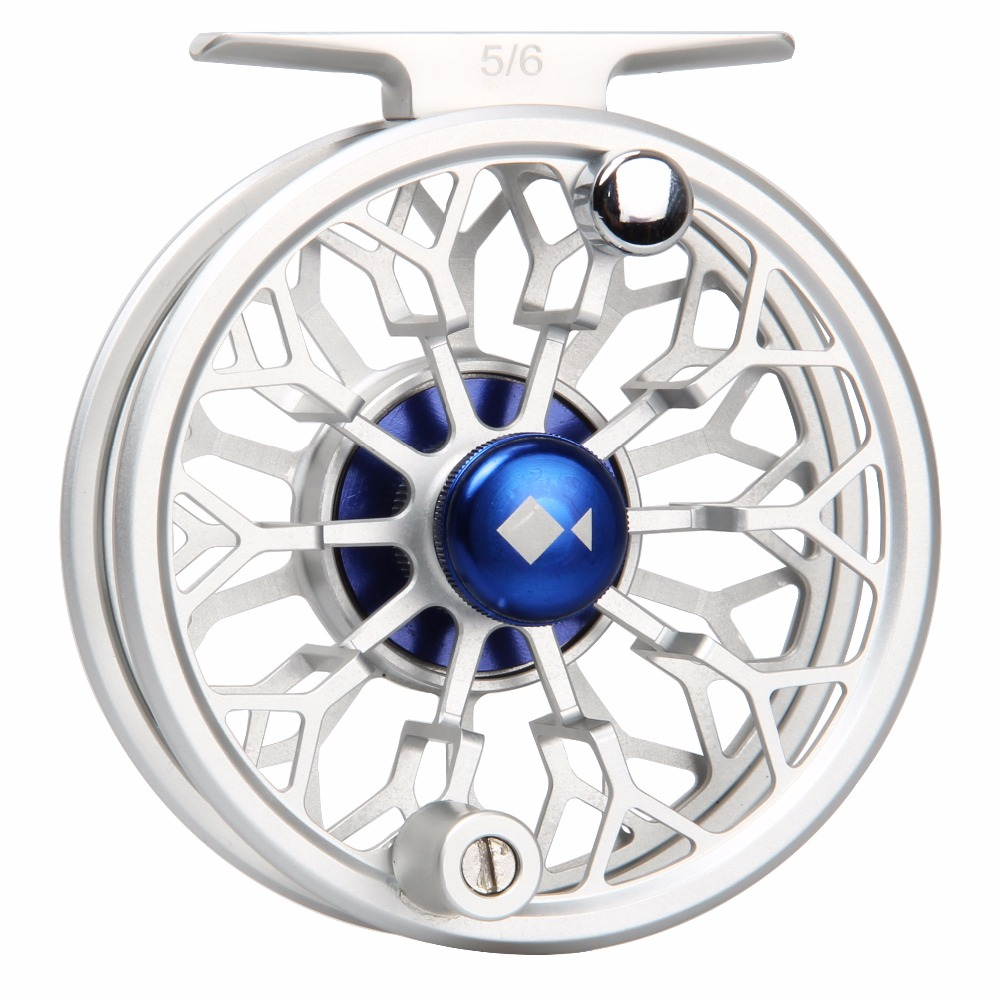 Angler Dream Fly Reel CNC Machined 3/4 5/6 7/8WT 6061 T6 Aluminum Fishing Reels Light Weight Fly Fishing Reel angler dream fly fishing combo 3 4 5 8wt carbon fiber fly rod kit cnc machined fly fishing reel