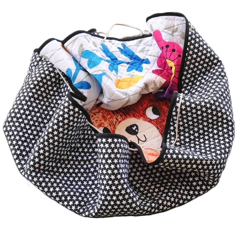 Детские мягкие ковры с мультяшными животными лисой детские игровые коврики ползающий ребенок одеяло ковер сумка для хранения игрушек Декор детской комнаты