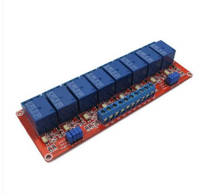 8 load way relay module 12V expansion board suport high or low trigger