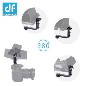 Image 5 - MB01 monitör 360 derece rotasyon L braketi sıcak ayakkabı için 5.5 5.7 inç monitör F550 F570 S5 Feelwrold Bestview smallHD monitör