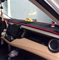 Carro-styling dashmats acessórios tampa do painel para toyota rav4 xa40 2013 2014 2015 2016 2017