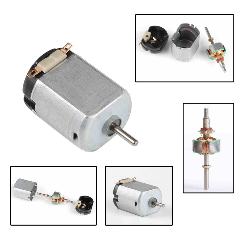 2Pcs 130 Motor Mini Small DC1-6V Electric Motors For DIY Toys Arduino Projects