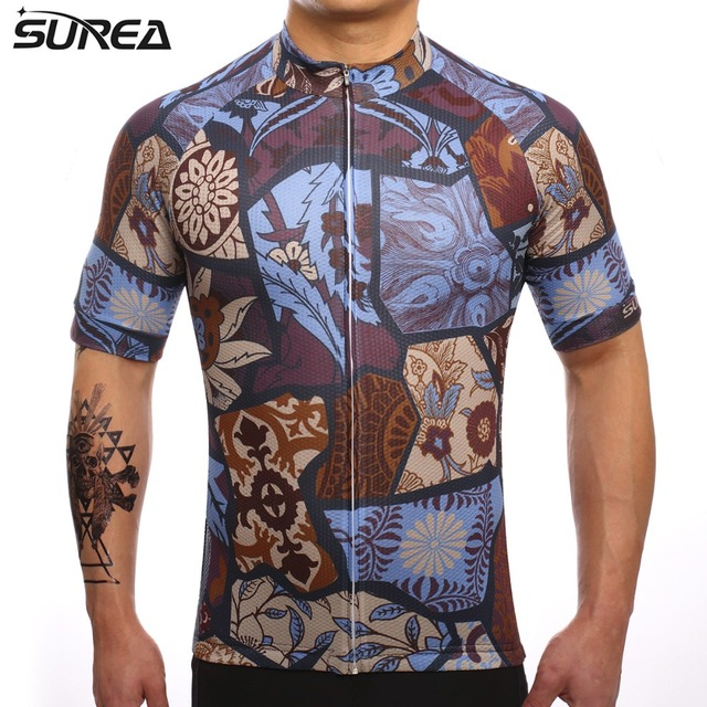 Pro Team MTB Maillot Ropa Ciclismo Breathable Sportswear Shirt Cycling  Jersey Bike Bicycle Short Sleeve Jersey Clothing No.53 53fa76be0