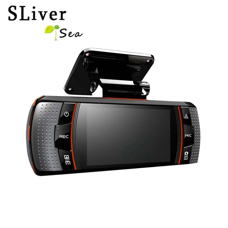 LIVERYSEA Car DVR Dual Camera Car DVR HD 1080P Dash Cam GPS Tracker 2.7 inch Screen Night Vision Camera #B1254