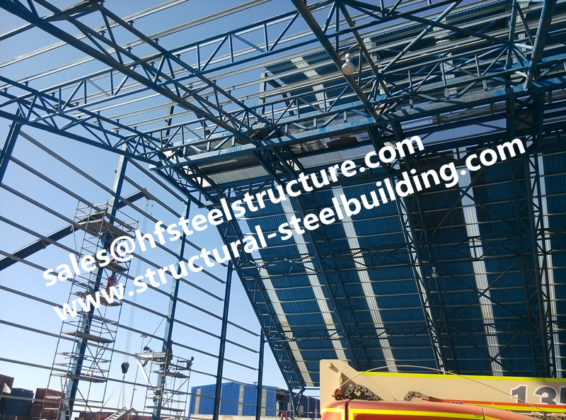 China Fabricated Steel Structures,stairs,roofing For Structural Steel Warehouse