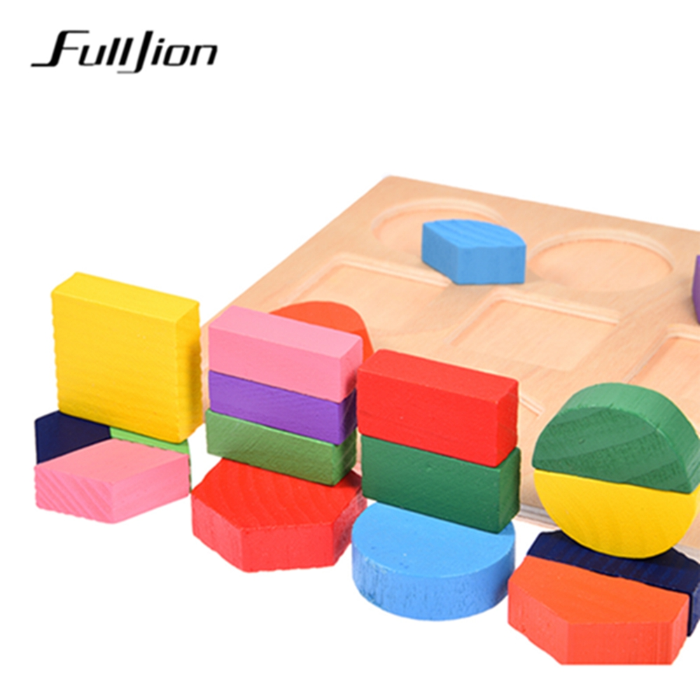 Fulljion Puzzle Game Learning Education 3D Wooden Toys Popular Children Jigsaw Maze Montessori Toy Busy Board Teaser Children
