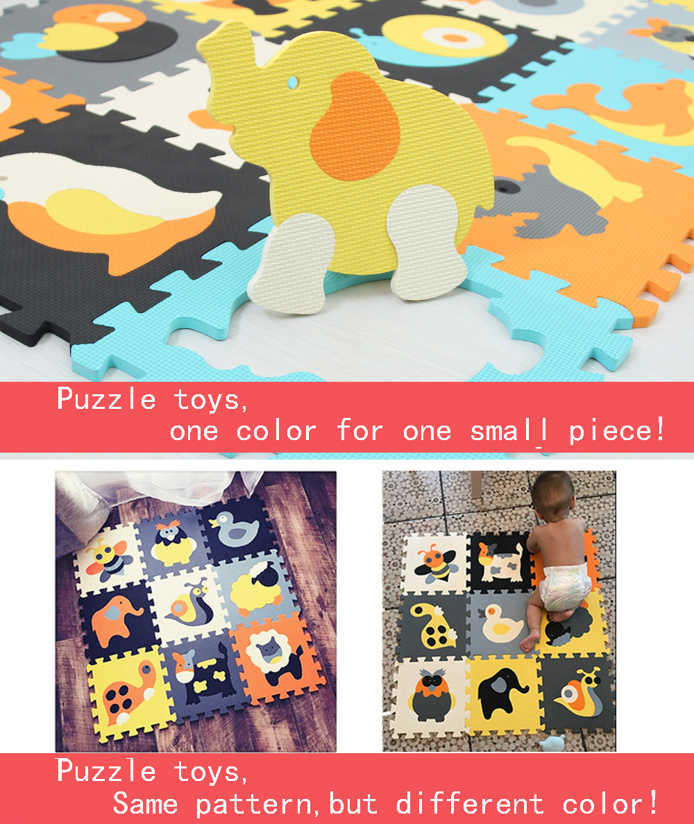 HTB1tU9FUkvoK1RjSZFwq6AiCFXa7 Cartoon Animal Pattern Carpet EVA Foam Puzzle Mats Kids Floor Puzzles Play Mat For Children Baby Play Gym Crawling Mats toddler