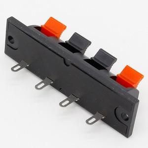 IMC Горячая Однорядная 4-контактная 4-позиционная акустическая Клеммная плата соединители 5 шт.