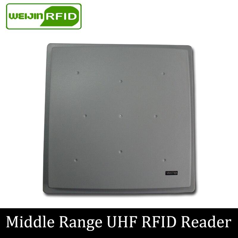 UHF RFID reader VIKITEK VFR61L long range Integrated Reader new 8 10m long range reader uhf rfid reader
